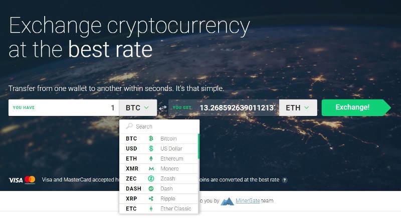 échanger bitcoin et crypto-monnaie