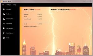 Le Teslacoin QT Wallet