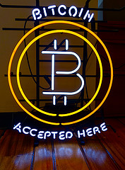 bitcoin accepted photo