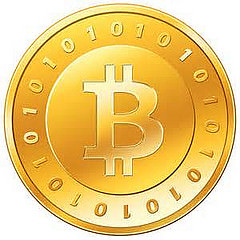 bitcoin logo photo