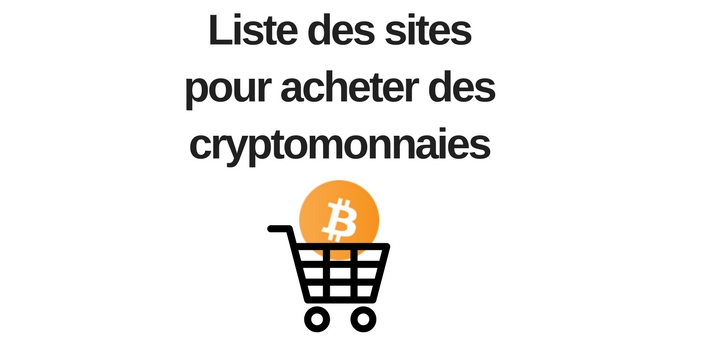 liste des sites pour acheter des crypto monnaies canardcoincoin. Black Bedroom Furniture Sets. Home Design Ideas