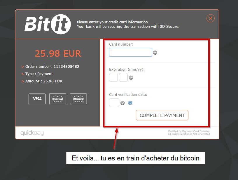 Acheter bitcoin CB