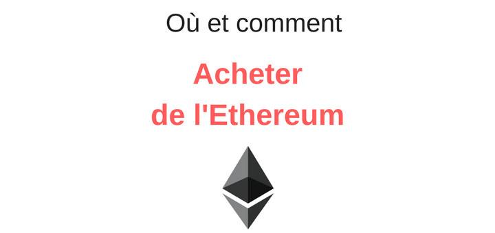 Acheter ethereum cb