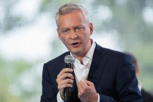 Le ministre des finances français favorable aux crypto-monnaies
