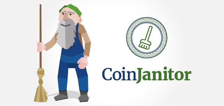 Recycler les crypto-monnaie et leur redonner vie avec coinjanitor