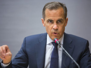 D'après Carney les crypto-monnaies ne remplissent pas la fonction d'argent