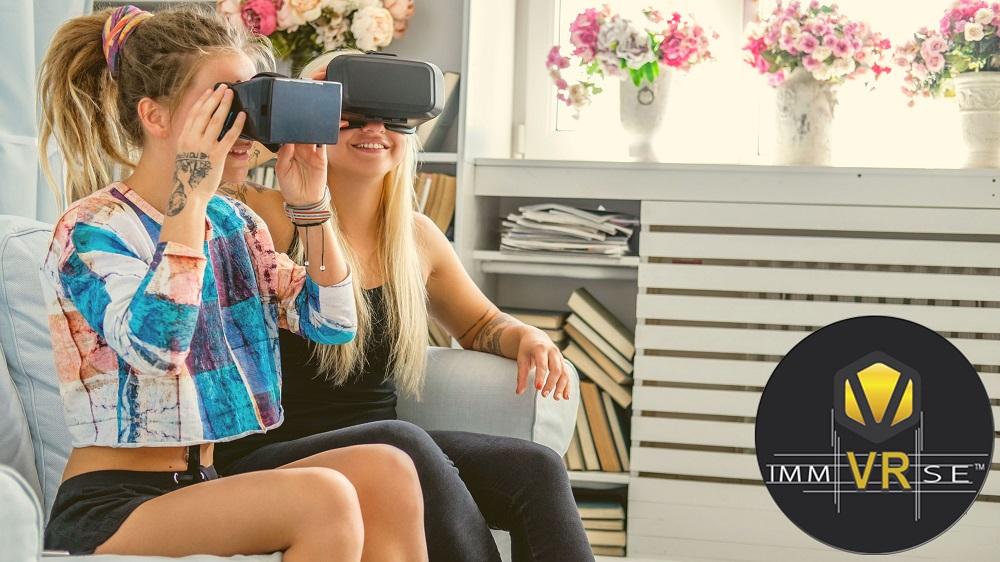 ImmVRse palteforme de présentation de contenu de réalité virtuel tom IMV