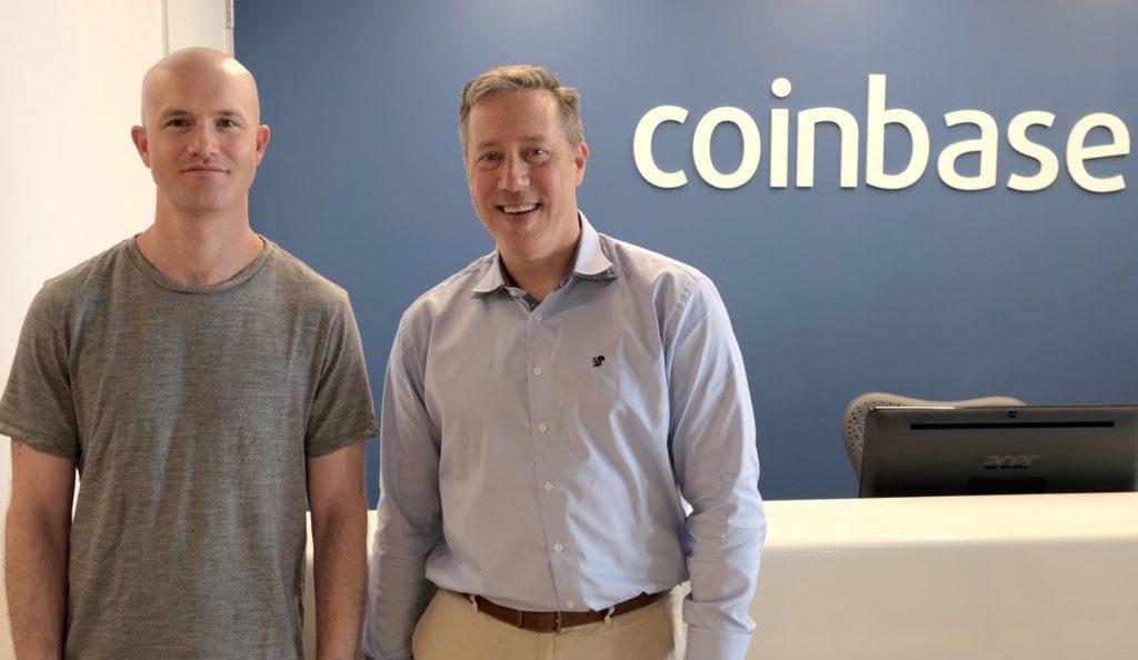 Coinbase s'agrandit avec un ancien employé de Microsoft et Amazon