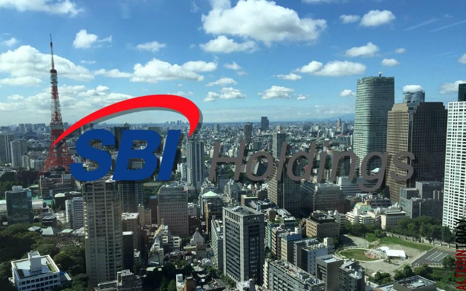 SBI holding investi dans une bourse d'échange de crypto-monnaies