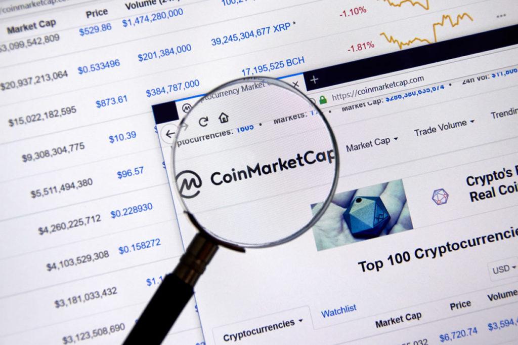 CoinMarketCap accepte la crypto-monnaie Kind